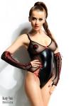 Body Hannah et gants - Black Rose